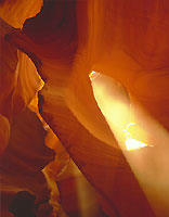 Sunlight, Slot Canyon, Arizona